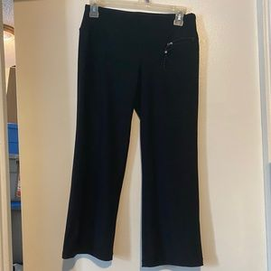 AERIE FIT WORK OUT CROP PANTS